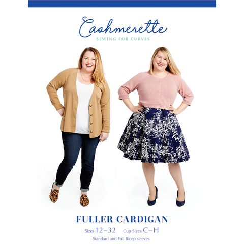 Cashmerette Sewing Patterns Fuller Cardigan
