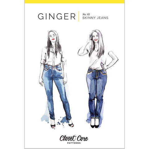Closet Core Patterns Ginger Jeans