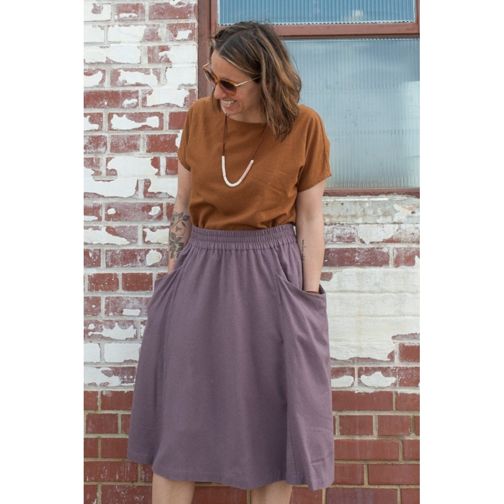 Sew Liberated Gypsum Skirt - Patterns - Style Maker Fabrics