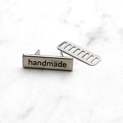 Metal Handmade Label