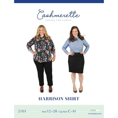 Cashmerette Sewing Patterns Harrison Shirt