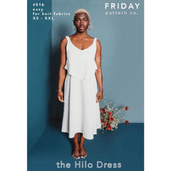 Friday Pattern Co. Hilo Dress - Patterns - Style Maker Fabrics