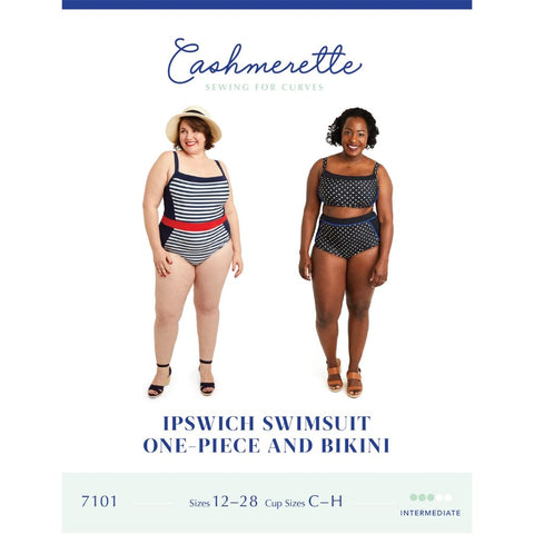 Cashmerette Sewing Patterns Ipswich Swimsuit