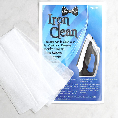 Bo-Nash Iron Clean - 10 Sheets