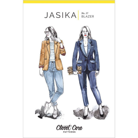Closet Core Patterns Jasika Blazer