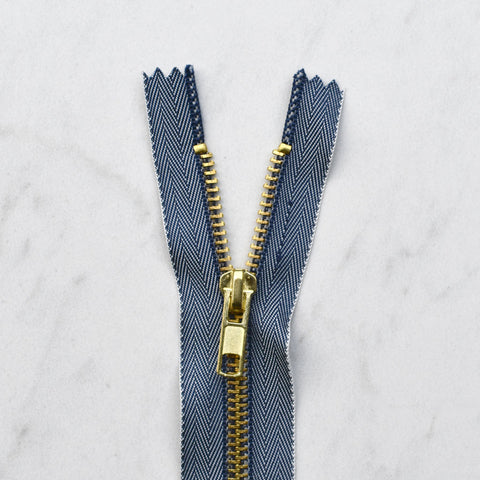 Durable Jeans Zipper - 7 inch