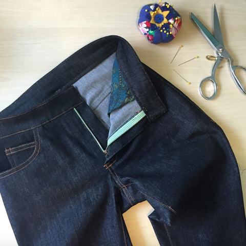 Sew Your Own Jeans Weekend Retreat—SOLD OUT