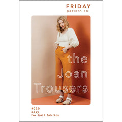 Friday Pattern Co. Joan Trousers - Patterns - Style Maker Fabrics