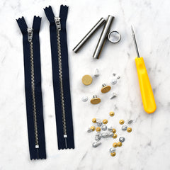 KATM Jeans Hardware + Tools Kit - Notions - Style Maker Fabrics