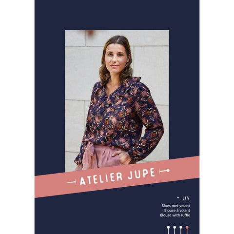 Atelier Jupe Patterns Liv Blouse