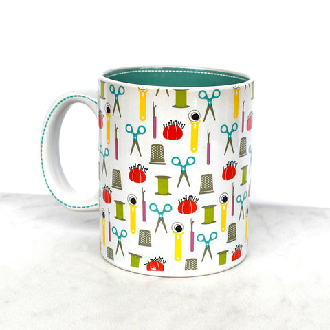 Sewing Modern Ceramic Mug