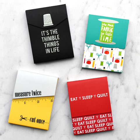Sew Modern Pocket Notepads