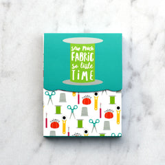 Sew Modern Pocket Notepads - Sold Out - Style Maker Fabrics