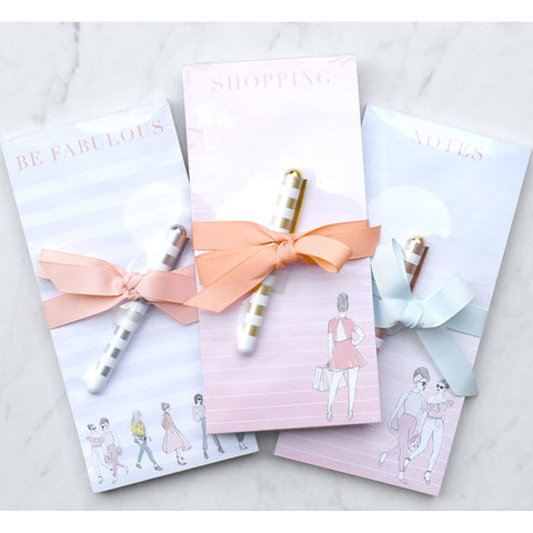 Fashionista Magnetic Notepad