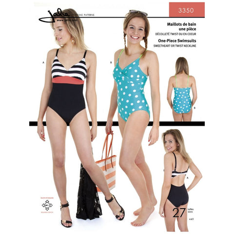 Jalie Sewing Patterns One-Piece Swimsuits
