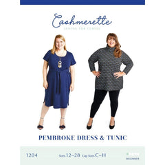 Cashmerette Sewing Patterns Pembroke Dress & Tunic - Patterns - Style Maker Fabrics
