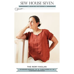 Sew House Seven Patterns Remy Raglan - Patterns - Style Maker Fabrics