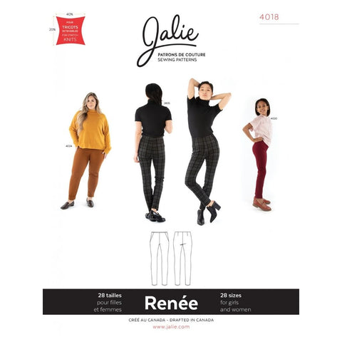 Jalie Sewing Patterns Renée Ponte Pants