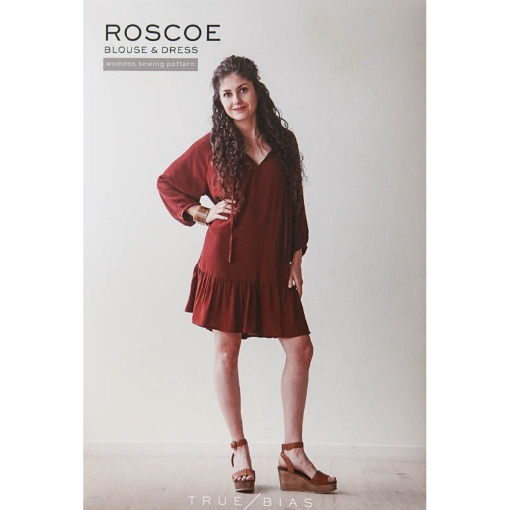 True Bias Patterns Roscoe Blouse & Dress - Patterns - Style Maker Fabrics