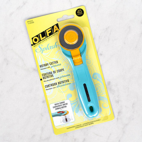 Olfa Splash Rotary Cutter - 45 mm