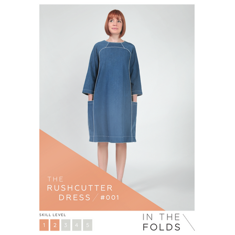 In the Folds Rushcutter Dress