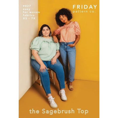Friday Patterns Co. Sagebrush Top