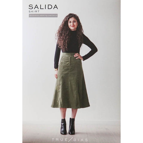 True Bias Patterns Salida Skirt