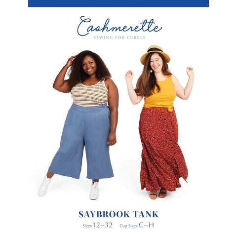 Cashmerette Sewing Patterns Saybrook Tank