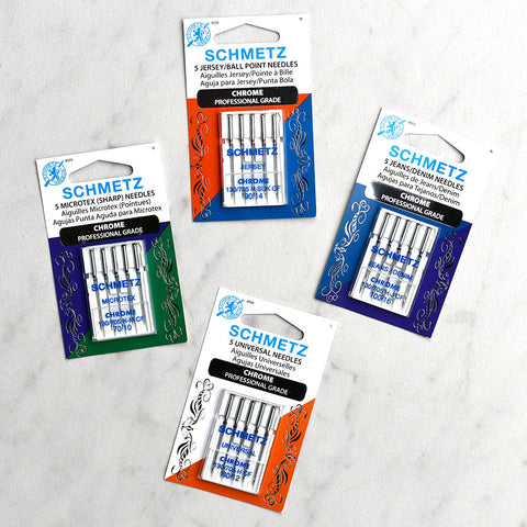 Schmetz Chrome Sewing Machine Needles