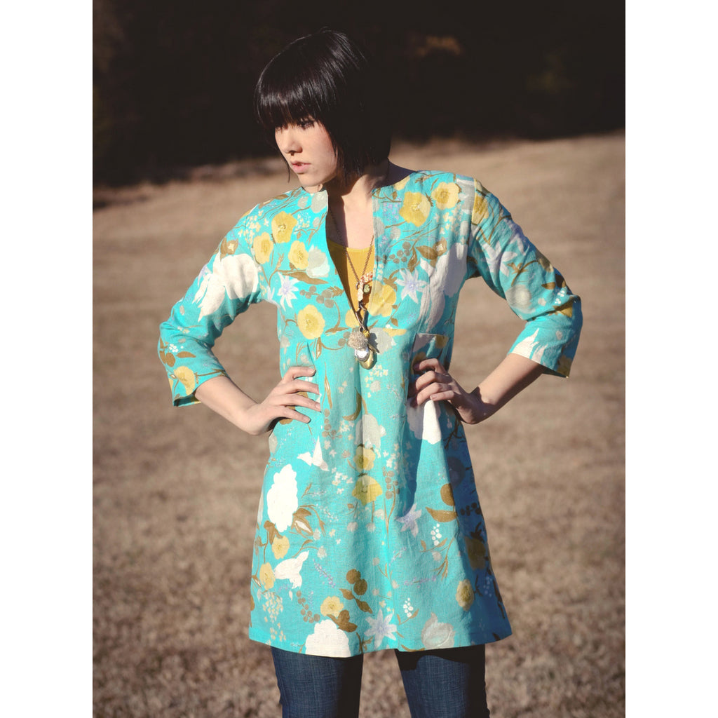 Sew Liberated Schoolhouse Tunic - Patterns - Style Maker Fabrics