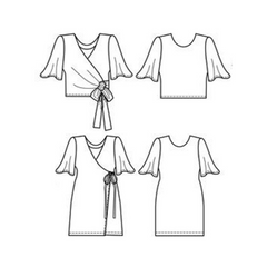 Papercut Patterns Sequence Blouse/Dress - Patterns - Style Maker Fabrics