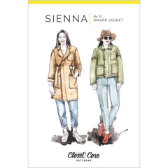 Closet Core Patterns Sienna Maker Jacket - Patterns - Style Maker Fabrics