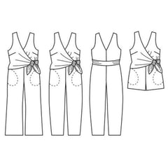 Papercut Patterns Sierra Jumpsuit - Patterns - Style Maker Fabrics