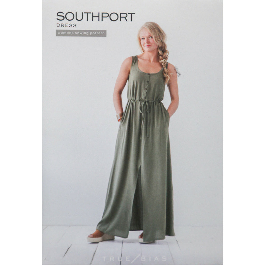 True Bias Patterns Southport Dress - Patterns - Style Maker Fabrics