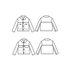 Papercut Patterns Stacker Jacket - Patterns - Style Maker Fabrics