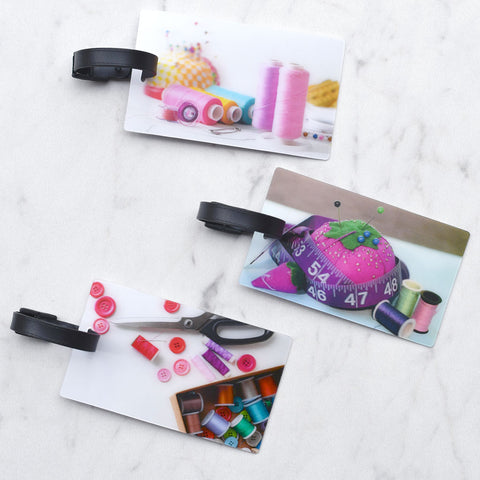 Hologram Sewing Luggage Tag