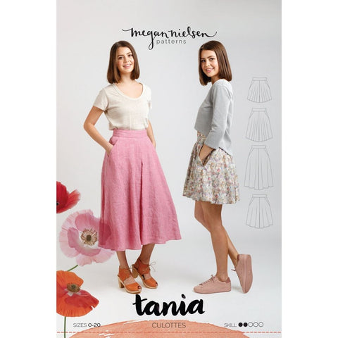 Megan Nielsen Patterns Tania Culottes