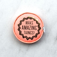 Make Amazing Things Tape Measure - Notions - Style Maker Fabrics