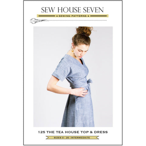 Sew House Seven Patterns Tea House Top and Dress