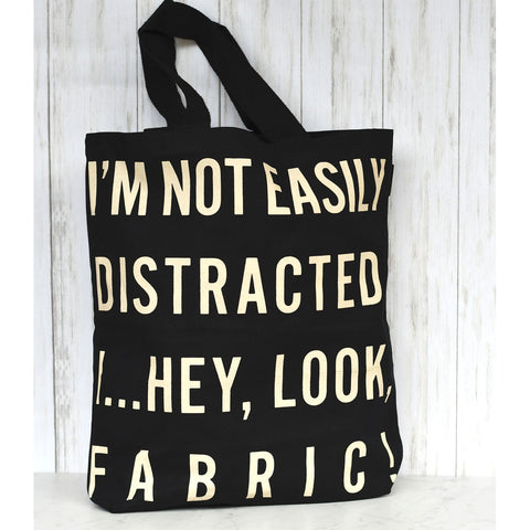 Hey, Look, Fabric! Canvas Tote Bag