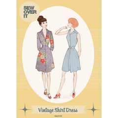 Sew Over It Vintage Shirt Dress - Patterns - Style Maker Fabrics