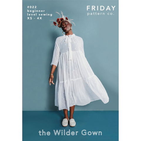 Friday Pattern Co. Wilder Gown & Blouse