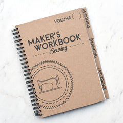 Maker's Sewing Workbook - Notions - Style Maker Fabrics