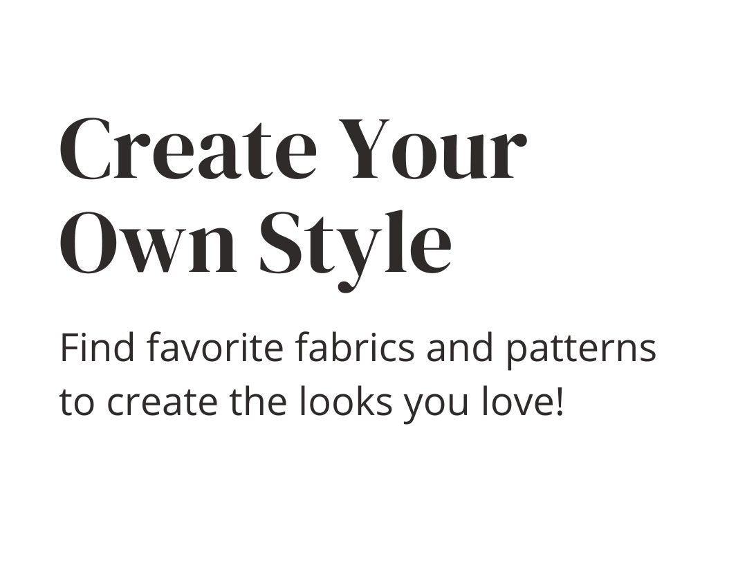 Create Your Own Style