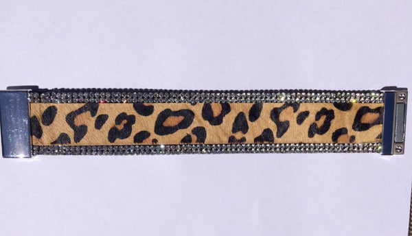 Points Leopard Print Cuff