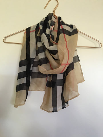Beige Scarf - Willow Rose Boutique