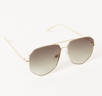Edge Shape Aviator - Gold