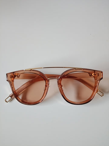 Scarlet Sunglasses - Tan