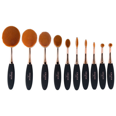 Oval Brush Set 10 Piece Set - (Pre-Order) - Willow Rose Boutique
