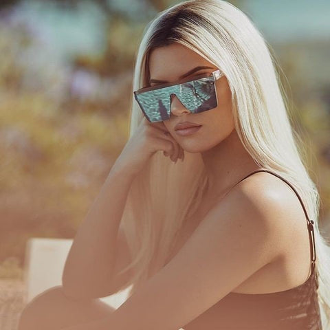 Hindsight Sunglasses - Gold/Gold
